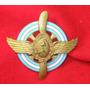 Escudo Fuerza Aerea Argentina Bronce Macizo Esmaltado Radiad
