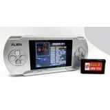 Consola Portatil 16 Bits Con Juegos Recargable Tv