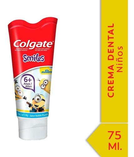 Colgate Smiles Minions Crema Unidad 1 1 100 G 75 Ml Tubo