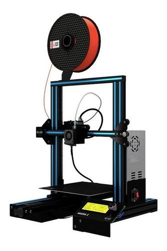 Impresora 3d Hellbot Magna 1 Celeste 110v/220v Con Tecnología De Impresión Fdm