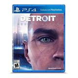 Detroit Become Human Ps4 Juego Fisico Original Sellado Full