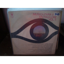 Vinilo Musica Para Ver En Folklore Volumen 2 Manseros P2