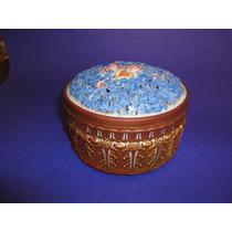 Antiguo Pote Bombonera De Porcelana Francesa(578)