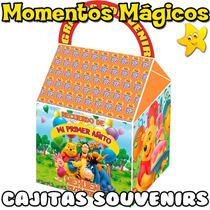 10 Cajitas Souvenirs Winnie Pooh Valijita Bolsita Golosinera