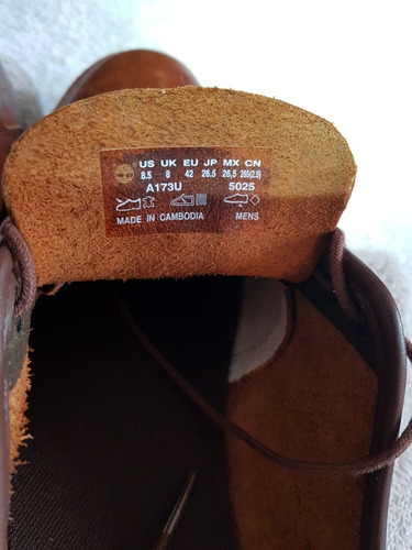 aae3149d Zapatos Timberland Oxford 8.5 Eu42 Marron