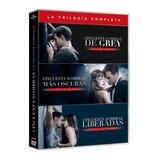 Trilogía Completa Películas  (50) Cincuenta Sombras De Grey