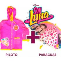 los recién llegados pensamientos sobre recoger Soy Luna Piloto + Paraguas Infantil Disney Original Premium ...