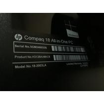 All In One Compaq 18-2003la