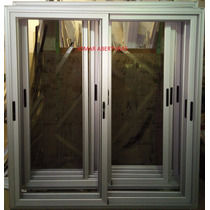 Puerta Balcon Aluminio Linea Modena 1.80 X 2.00 Anodizado