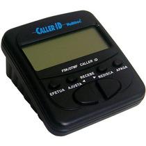 Identificador De Llamadas Caller Id Negro Blanco