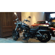 Zanella Patagonia Eagle Custom Black 150cc Año 2016 500km