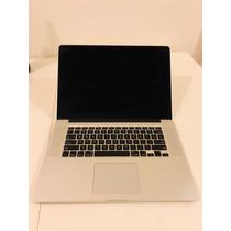 Macbook Pro Retina 2013 15  I7 8gb Ram 256gb Hd