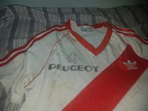 Historica Camiseta De River Plate Peugeot dae85eaaac27b