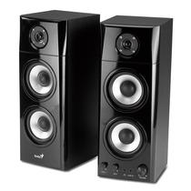 Genius Sp-hf1800a Sistema De Sonido Bafles 2.0 50w Rms 3vias