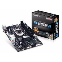 Placa Madre Mother Gigabyte Ga-h81mh Pc Intel 1150 12 Cuotas