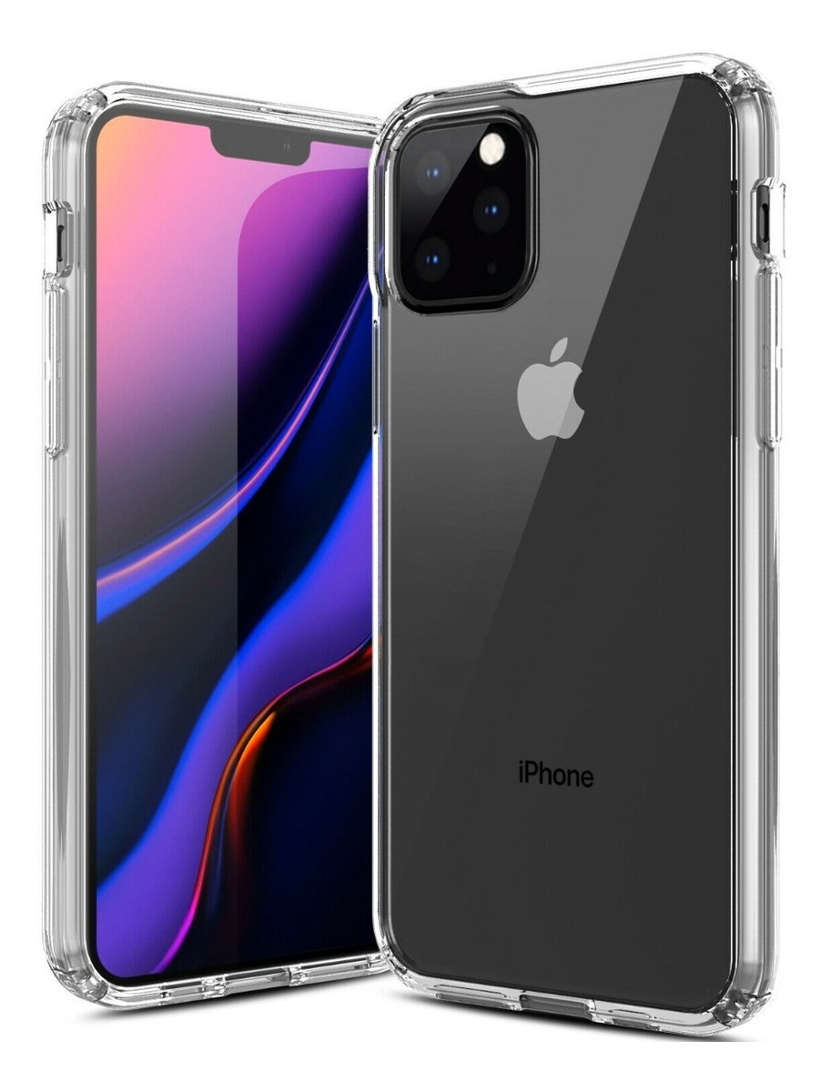 FUNDA PLASTICO DURO ANTIGOLPE IPHONE 11