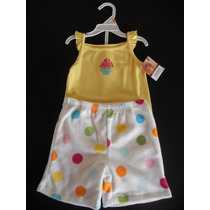 Set (carters) X 2:(body + Short). Talle:12 Meses (n.y - Usa)