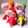 Peppa Pig La Cerdita Y Familia Peluches 25 Cm