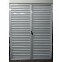Postigon De Aluminio Blanco 150x200 De Abrir En 2 Hojas
