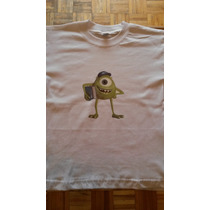 Buzos Y Remeras Mike Wazowski Monster Inc.