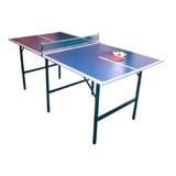 Mesa De Ping Pong Nelimoneba Familiar Azul