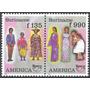 Trajes Típicos - Upaep - Surinam - Serie Mint (mnh)