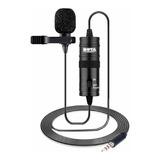 Micrófono Con Accesorios Boya By-m1 Condensador Omnidireccional Negro
