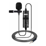 Micrófono Con Accesorios Boya By-m1 Condensador Negro
