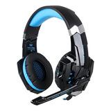 Auriculares Kotion Each G9000 Black Y Blue