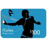 Itunes Gift Card Us$ 100 -ent.inmediata- Malot Media-oferta!