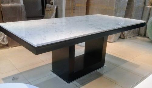 Mesa Comedor Marmol Carrara Minimalista Thalian - $ 100 en Melinterest