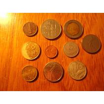 Lote De 10 Monedas Italianas