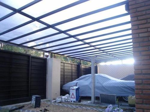 Cerramientos techos corredizos policarbonato cocheras 100 - Toldos para cocheras ...