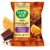 Brownie Soja, Chocolate e Laranja - Sem Gluten 40g GoodSoy