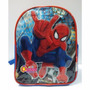 Mochila Espalda Spiderman Hombre Araña Jardin 12 Pulgadas