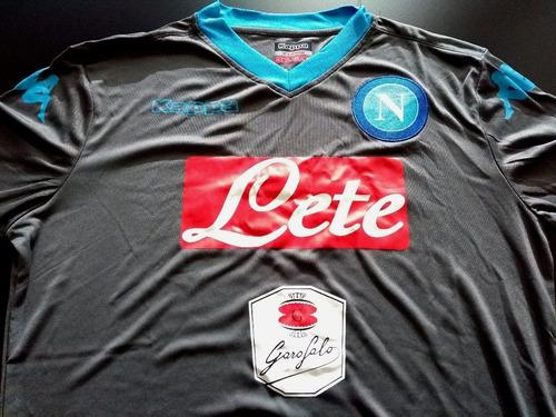 Camiseta Napoli Traida De Italia   Slim   Talle X L cf7395c3e9043