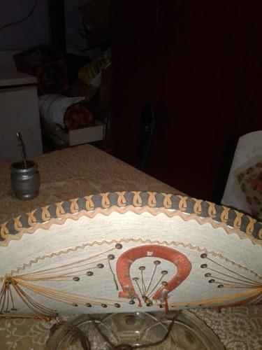 b41fb5f7ac454 Sombrero Mexicano De Fiesta Con Lentejuelas