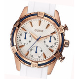 Reloj Guess W0562l1 Dama Multifunción Rose Acero Watch Fan