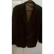 Saco Corderoy Robins Color Chocolate Talle 50
