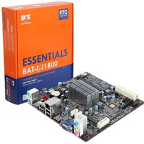 Motherboard Ecs J1800 + Cpu Intel Bay Trail Usb 3.0 Itx Mexx
