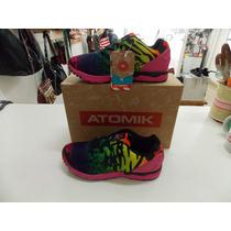 Zapatillas Deportivas Atomik Multicolor Animal Print