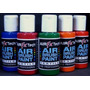 Tintas Textiles Air Fx Tech Por 5 Colores De 50ml Set Nº2