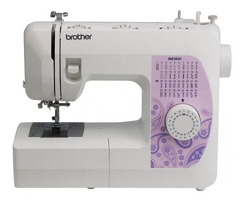 Máquina De Coser Brother Bm3850 Blanco 220v