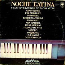 Noche Latina Los Top De Radio Mitre Vinilo Long Play