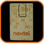Chip Nextel Con Abono Para Usados I418, I296 Y Demás Equipos