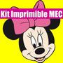 Kit Imprimible Minnie Miny Mickey 2015 Candy Full Y Mas