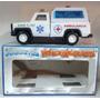 Camioneta Metalica Ambulancia Varios Modelos Jugueteria