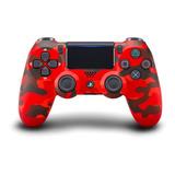 Joystick Sony Dualshock 4 Red Camouflage