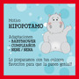 Kit Imprimible Decoración Para Fiestas Temáticas! Hipopotamo