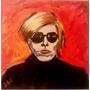 Cuadro Arte Decorativo Retrato De Warhol Por Jorge Calvo